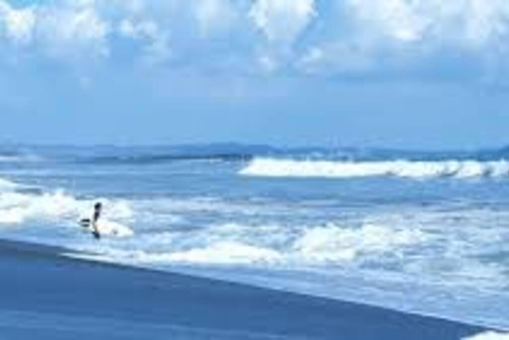 Oiso, the beach