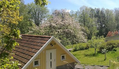 Gästhus nära till hav, natur och Göteborg