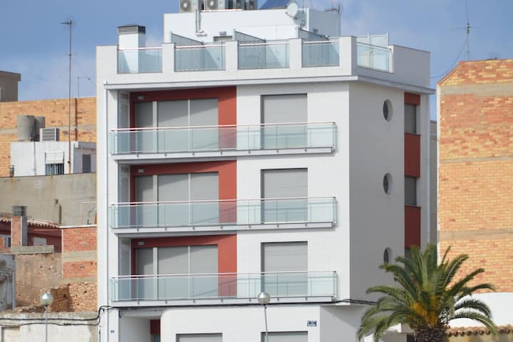 Lovely Apartment in Ametlla de Mar Spain with Harbour Views