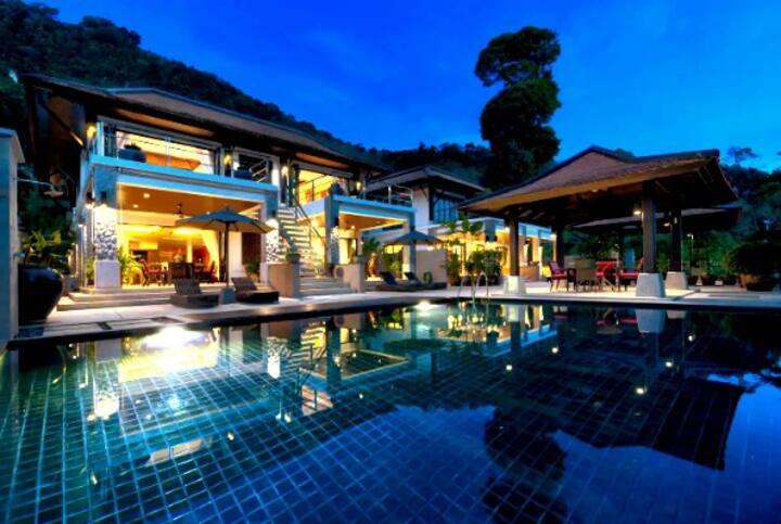 Kalim5 Patong ModernThai PoolVilla Partial SeaView