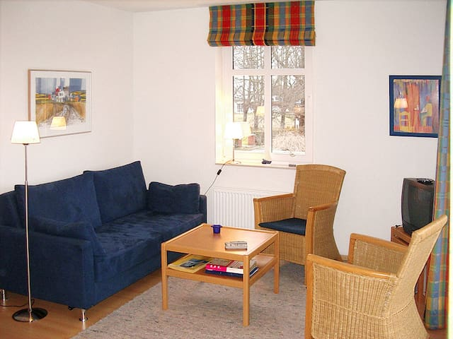 58 m² Apartment Fewos am Bootshafen - Breege - Apartament