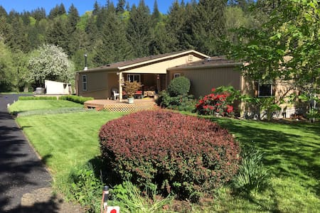 Country setting in beautiful Kings Valley Oregon.