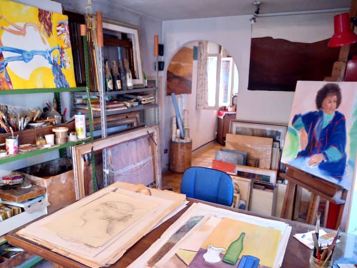 La casa dei pittori -> The painters' house