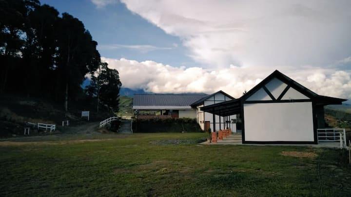 The Hill Kinabalu. Kundasang, Ranau
