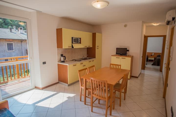 2 room-apartment (1 sleeping-room)