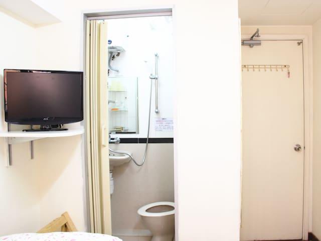 causeway bay MTR+Tidy Quad room&YT
