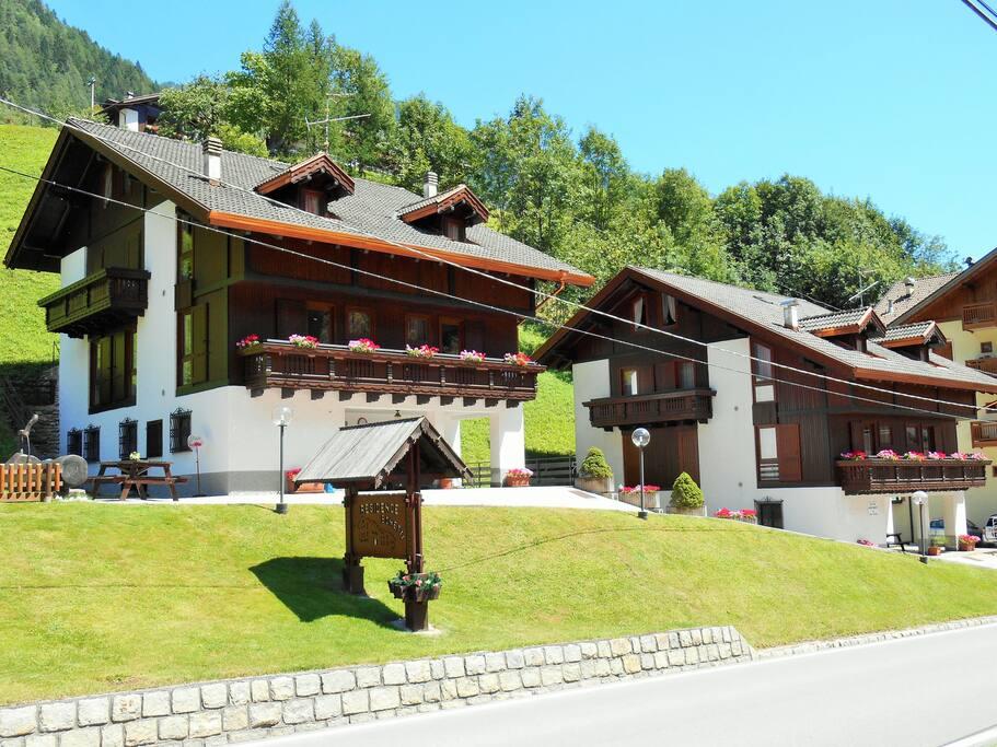 Residence Bonetti in estate.