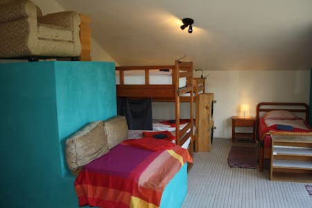 8-Bed Dormitory in the Hostel on the Hill