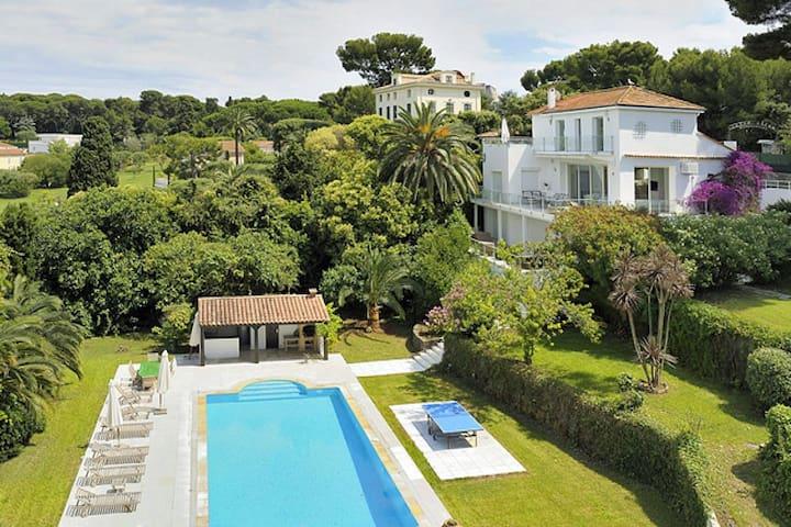Celebrity Hotspot  Cap d'Antibes Paradise Villa