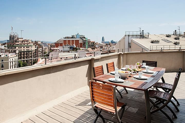Gorgeous Arago312 Penthouse with Large Terrace
