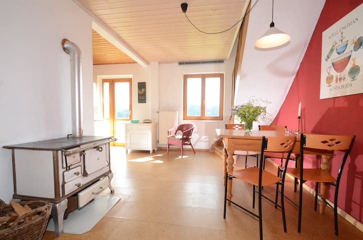 Spacious flat in natural surrounding - Waidhaus - Apartamento