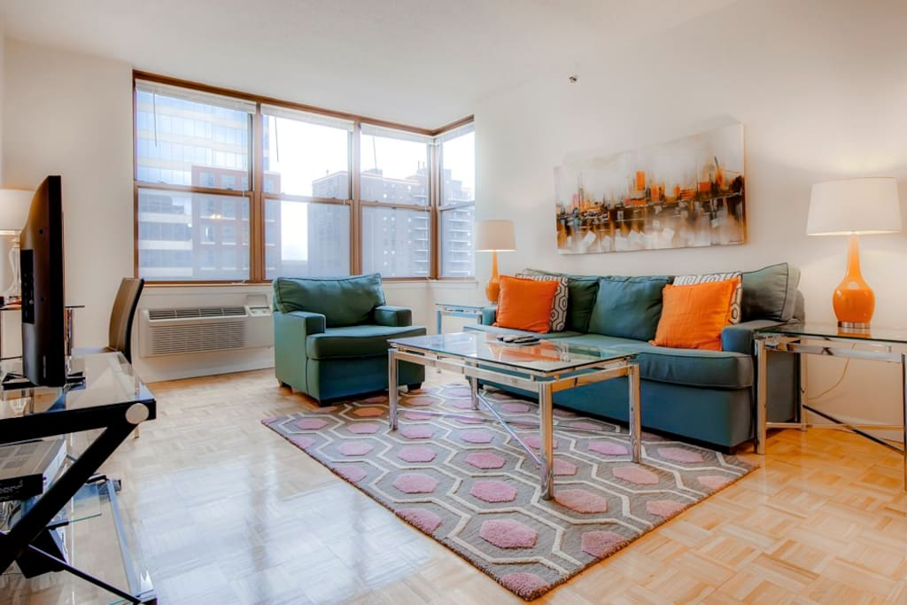 lavish 2 bedroom hoboken apartment fully furnished