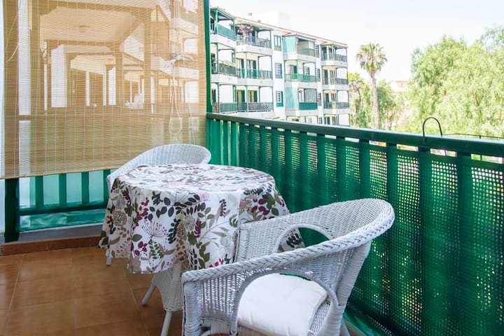 Apartment with one bedroom in Puerto de la Cruz, with wonderful city view, balcony and WiFi - 500 m from the beach