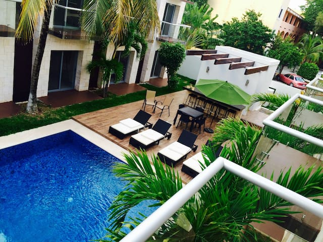 The Location&Chill Out!.. - Playa del Carmen - Apartamento