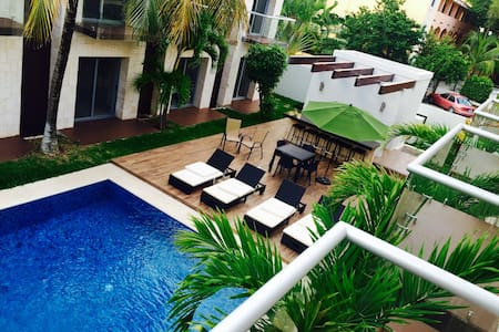 The Location&Chill Out!.. - Playa del Carmen - Departamento