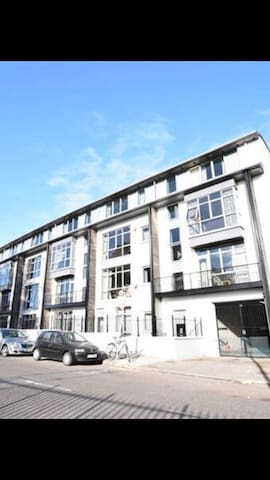 Student apartment summer letting.  Cork.  Across from railway station.    Min.  2 week let.   Per room for one person.   All amenities.   Own linen etc.