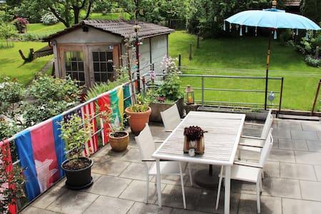 Cozy & calm room with a big terrace - Köniz - Apartment
