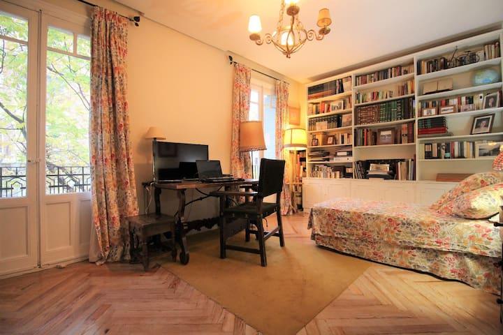 Luminosa habitación 20m2 en Barrio Salamanca, Goya