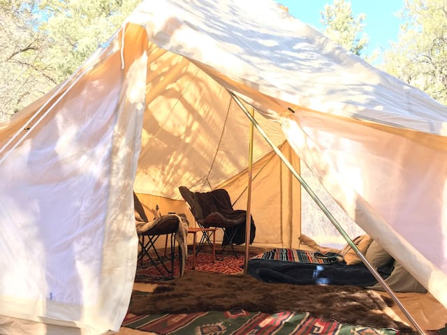 Camping in Vegas Family or Honeymoon Glamping Tent