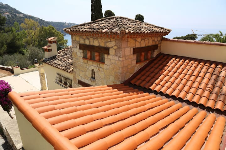 Charming and private house, Roquebrune Cap Martin