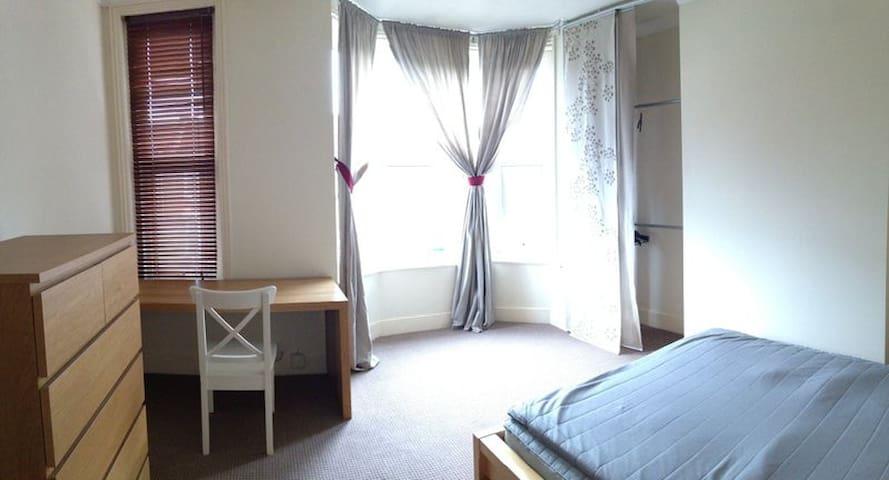HUGE MASTER BEDROOM in comfy warm modern home