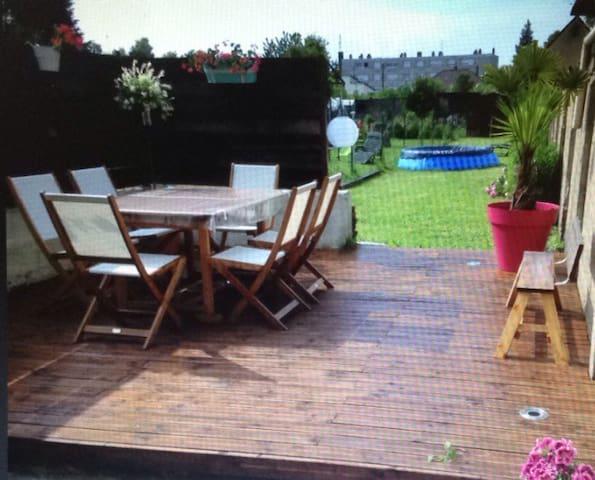 Maison de ville avec jardin - Corbie - Huis
