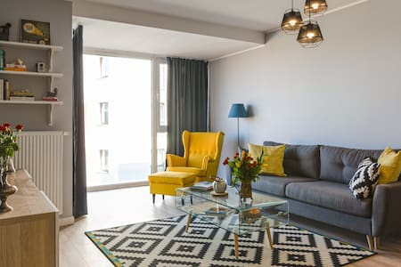Beautiful brand new apartment Old Town vicinity! - Гданьск - Квартира
