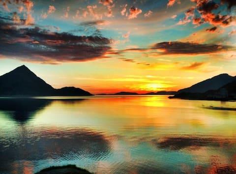 Øksfjord beautiful vally called  Vassdalen.
