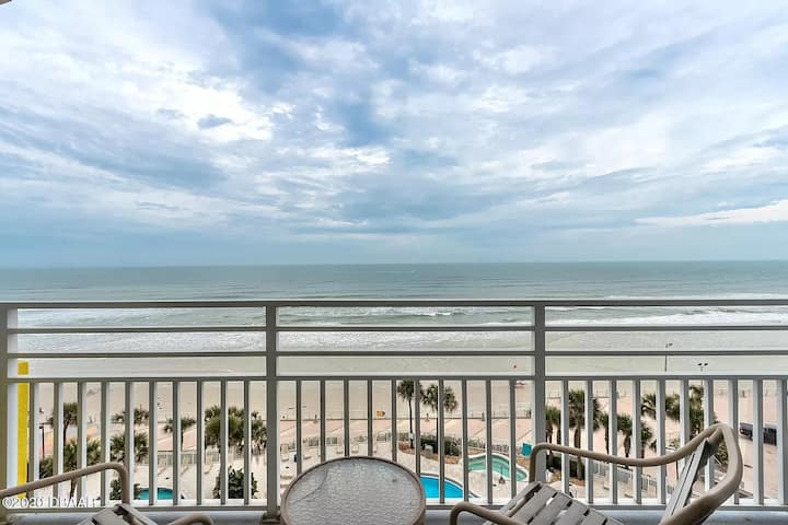 Daytona Beach Ocean Walk 5-Star Resort 1BR Condo!