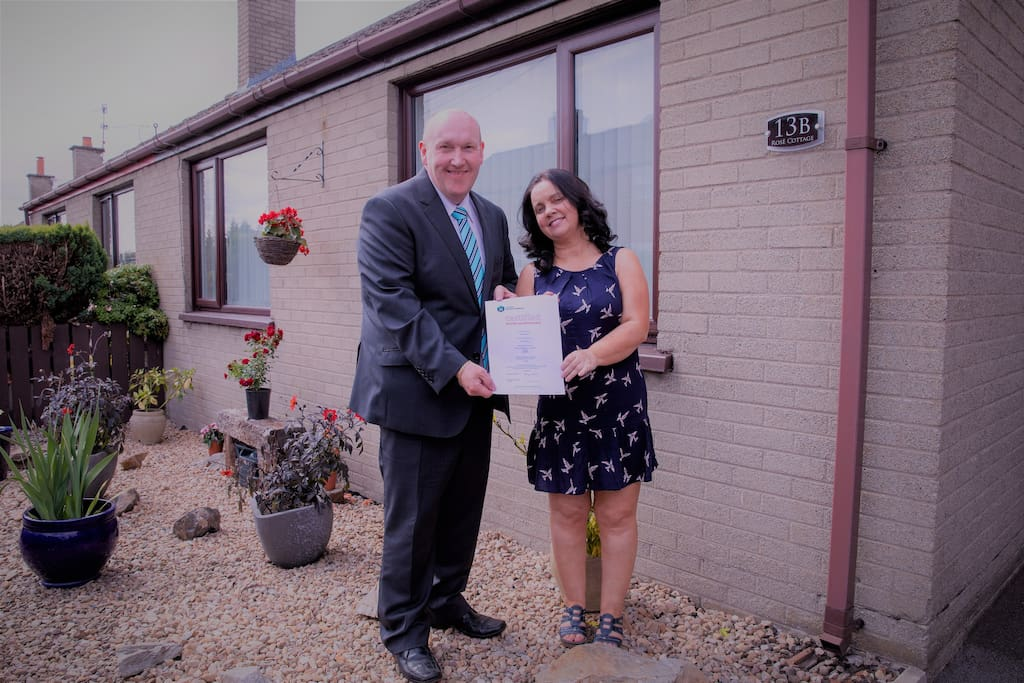 official opening of rose cottage 30.07.18