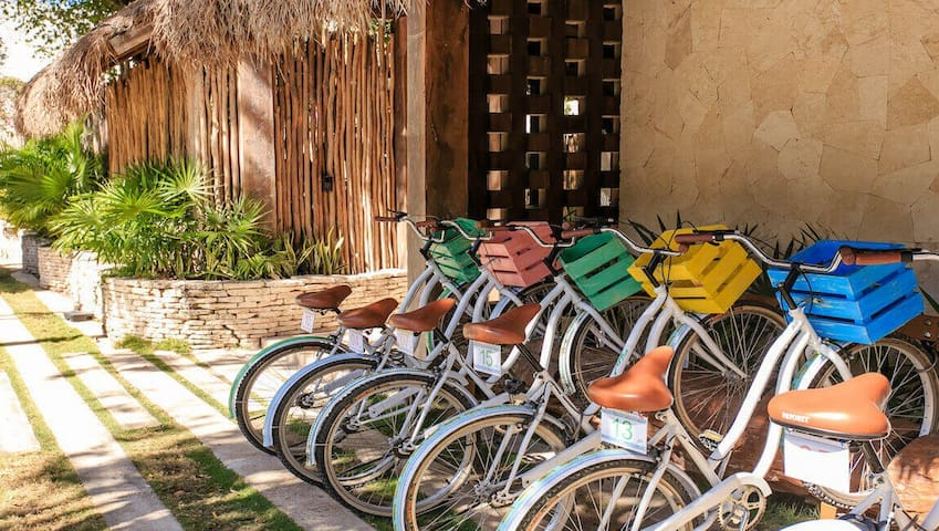 YOUR STAY INCLUDES - Free bikes available for all guests