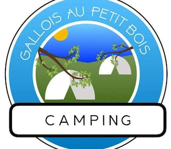 Camping pitch in a rural campsite for your tent