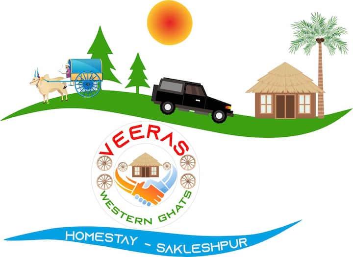 Veeras western ghats homestay Sakaleshpura