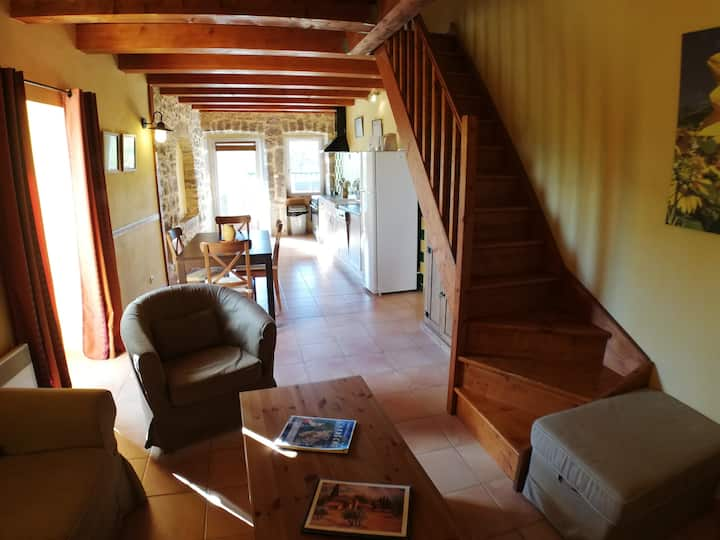 Gîte Ardèche, Villa au calme : Domaine la Barnerie