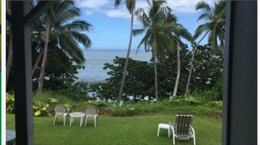 Relaxing Oceanfront Getaway - Hana - Apartment