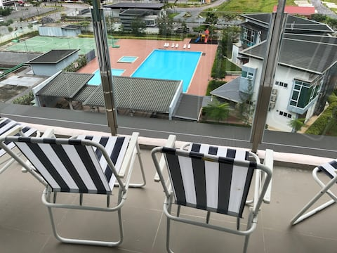 Stella Apartment L with Pool+City View