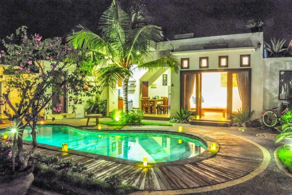 Pool Evening View
