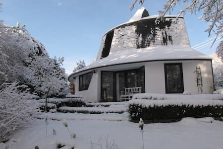 """""""La maison champignon"""", """"The mushroom house"""" Tilff - Esneux - 独立屋"""