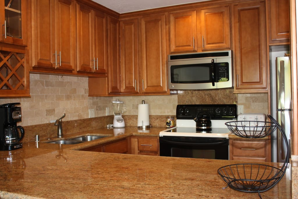 Fully updated and furnished kitchen
