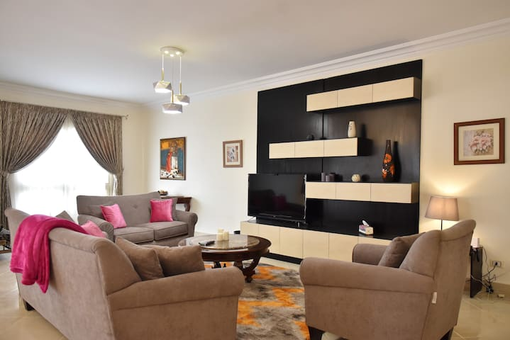 A Luxurious Cozy Apartment in Heart of Cairo-2