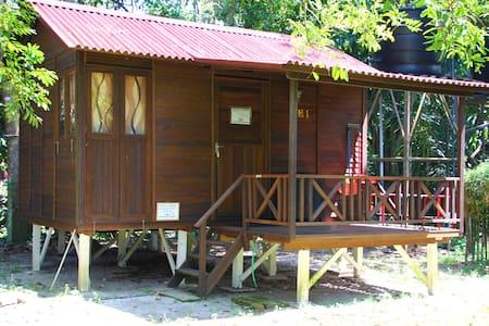 Wooden Matahari Villa in Eco-friendly Campsite - Gopeng
