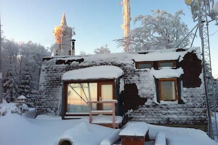 Horská chata na samém vrcholu Jedlové hory - Jiřetín pod Jedlovou