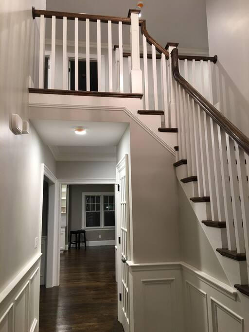 Beautiful entry and stairs