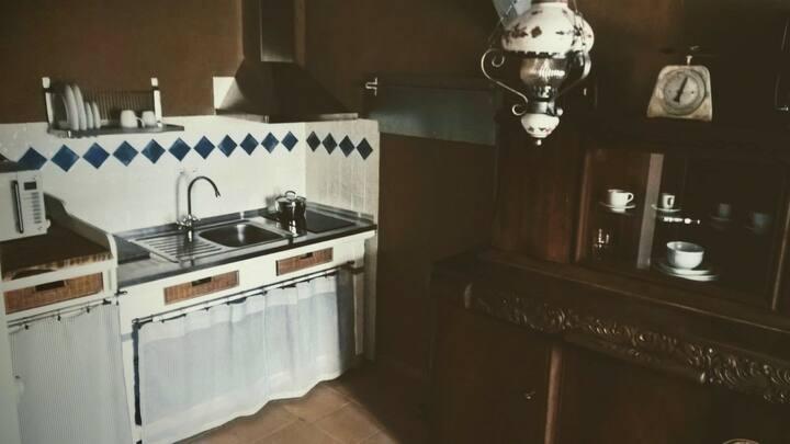 Wohnung mit Bad und Küche in der Altstadt