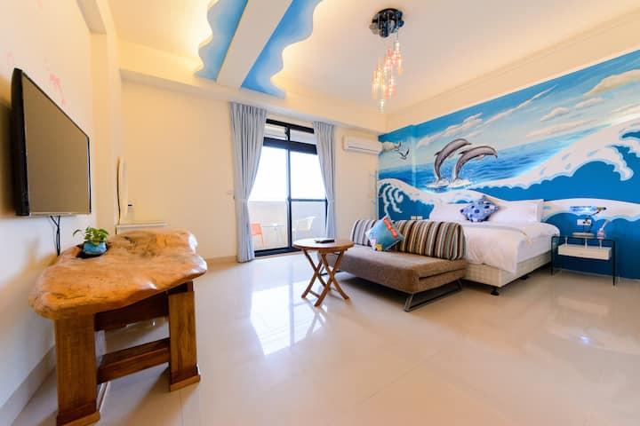BeautyFlower B&B-201 Ocean Style Suite