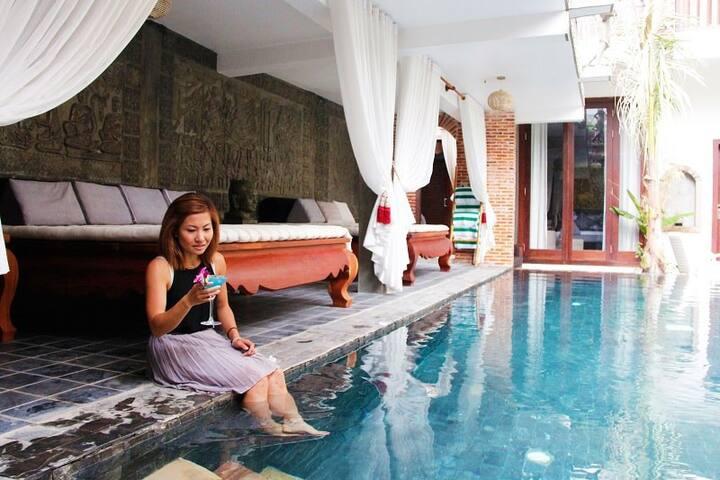 Modern room in Siem Reap