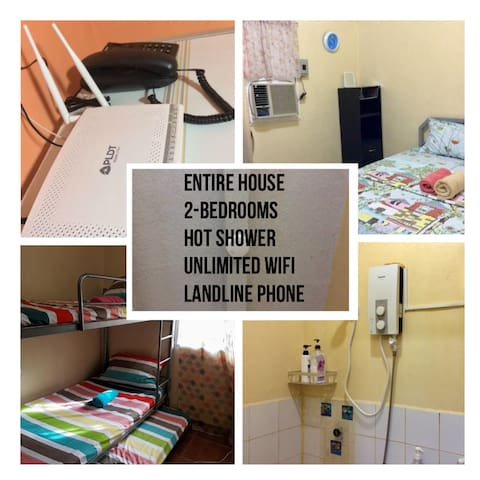 Montalban Guest House (AC, phone,WIFI,hot shower)
