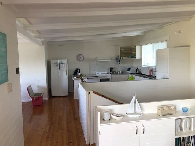 Large well equip kitchen with everything you need to entertain