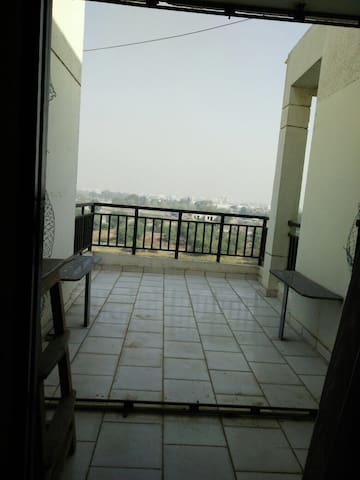 A private room with a private terrace