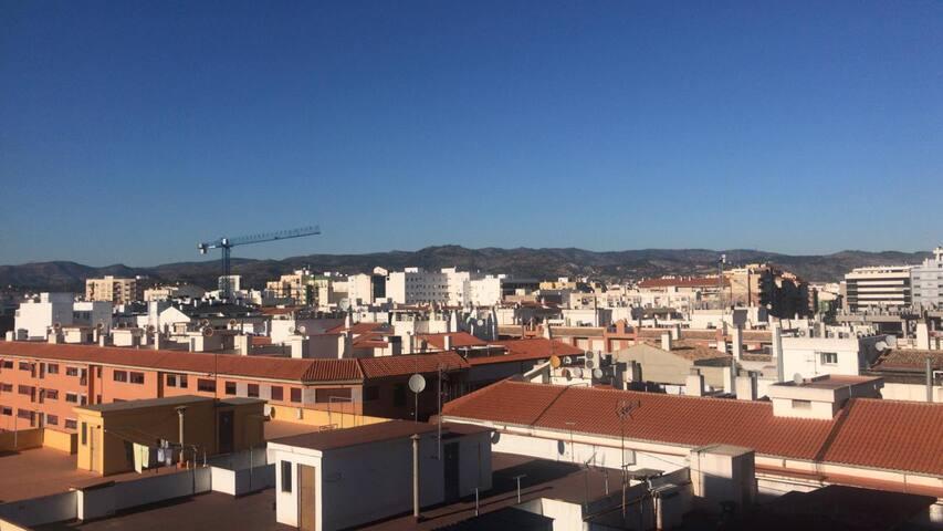 Piso moderno y céntrico en Castellón con vistas